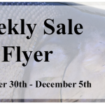 New Weekly Sale Flyer November 30th to December 5th