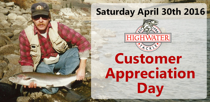 Highwater 30th Anniversary and Customer Appreciation Day